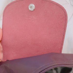 Authentic long champ purple